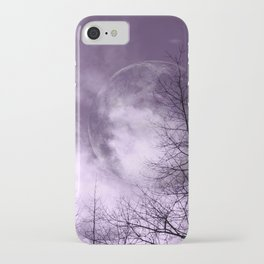 Purple Night  - JUSTART © iPhone Case
