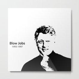 Blow Jobs 1993-1997 Metal Print