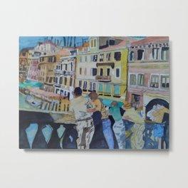 Urlaub in Venedig Metal Print