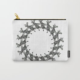 Zebras in the Loop Carry-All Pouch