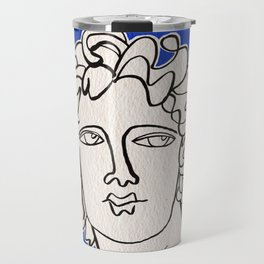 Alexander the Great statue Travel Mug