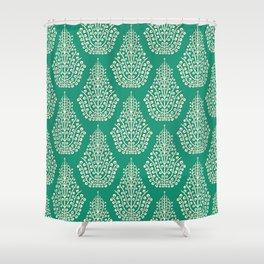SPIRIT jade cream Shower Curtain