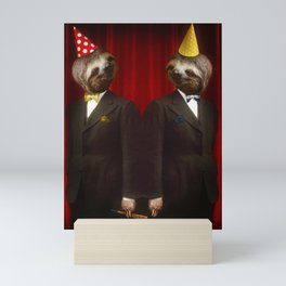 The Legendary Sloth Brothers Mini Art Print