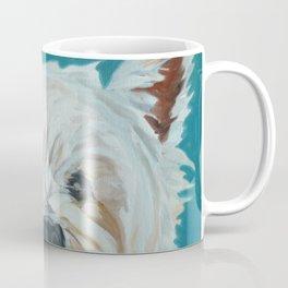 Jesse the Beautiful West Highland White Terrier Dog Portrait Coffee Mug