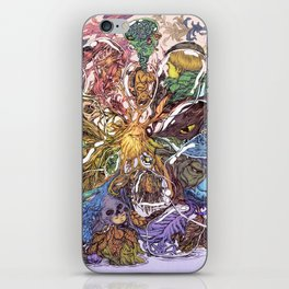 Life Bubbles iPhone Skin