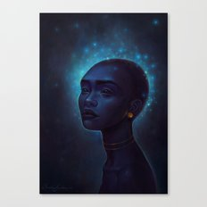 Song of the stars Canvas Print