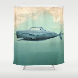 the Buick of the sea 02 Shower Curtain