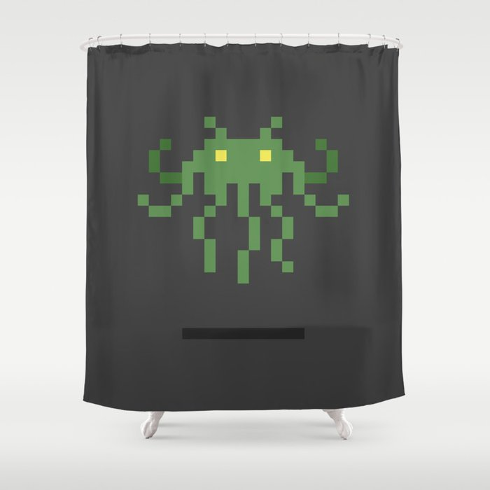 Cthulhu Invader Shower Curtain