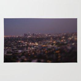 Angel City Lights (L.A. at Night) Rug