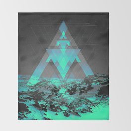 Neither Real Nor Imaginary II Throw Blanket