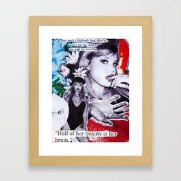 Bonnie Strange Framed Art Print