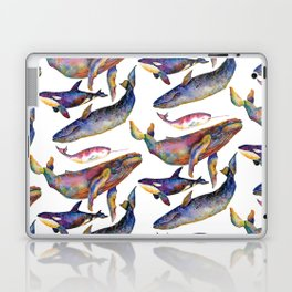 Whale Pyramid #2 Laptop & iPad Skin