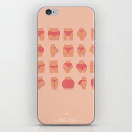 Les Mots Dits - Vingt Culs iPhone Skin