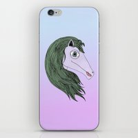 my little pony iPhone & iPod Skins featuring My Little Pony by Josefina F. Vigó