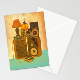 RECORD ROOM Stationery Cards