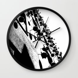 Barna Love B&W Wall Clock
