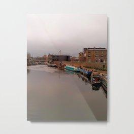 Regent's Canal near King's Cross Metal Print