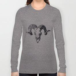 Sheep Skull Long Sleeve T-shirt