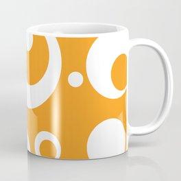 Circles Dots Bubbles :: Marmalade Coffee Mug