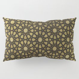 Design illustration based on traditional oriental graphic motifs Pillow Sham