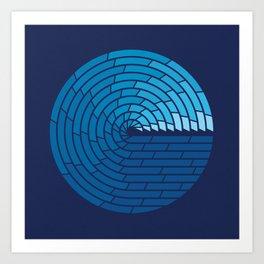 Almighty Ocean Art Print