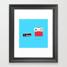 Let's Be Super Together Framed Art Print