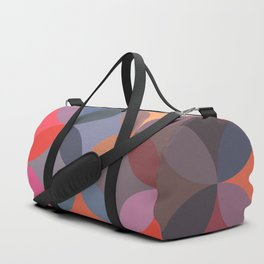 Moroccan pattern multicolor Duffle Bag