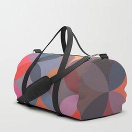 Moroccan pattern multicolor Duffle Bag