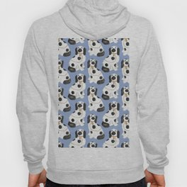 Staffordshire Dog Figurines No. 2 in Dusty French Blue Hoody