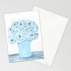 Boho still life flowers in vase Stationery Cards