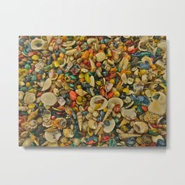 million shells Metal Print