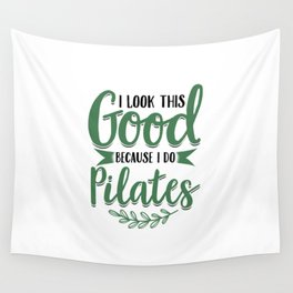 Pilates   Fitness Workout Yoga Gifts Wall Tapestry