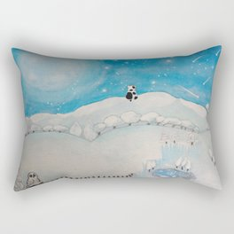 MICETTO HILL Rectangular Pillow