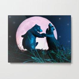 Dancing Bears Metal Print