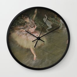 Edgar Degas - The Star Wall Clock