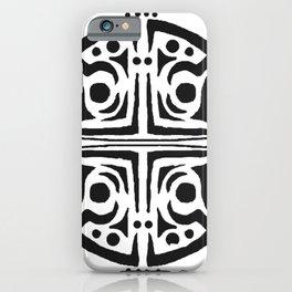 Rond,tatouage,mandal,tatoo iPhone Case