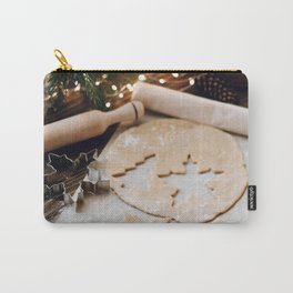 Baking Christmas Cookies Carry-All Pouch