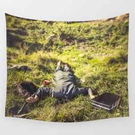 Retirement Plan Wall Tapestry