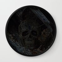 celtic Wall Clocks featuring Celtic by Derek Moffat