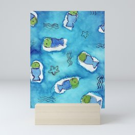 Funny Fish Mini Art Print