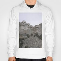 rushmore Hoodies featuring Mount Rushmore National Park by Joanne Salazar
