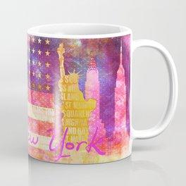 New York USA Statue of Liberty Coffee Mug