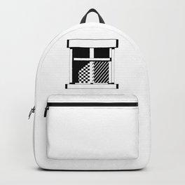 Geometric window Backpack
