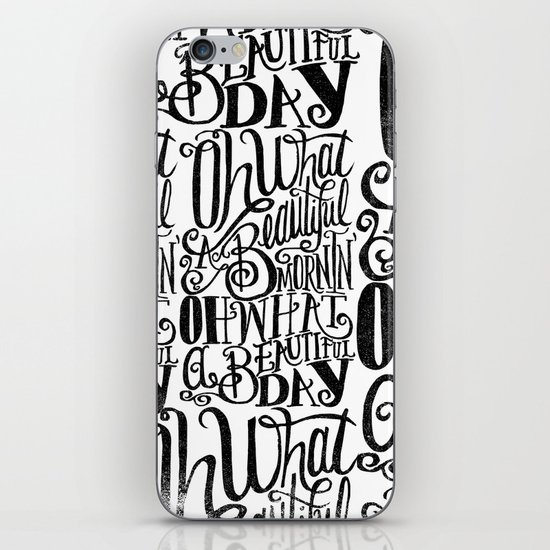 ....Oh what a beautiful day iPhone & iPod Skin