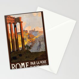 Vintage poster - Rome Stationery Cards