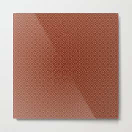 Brick Color Metal Print