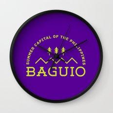 Philippine Series - Baguio Wall Clock