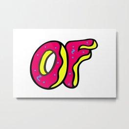 of donut Metal Print