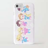 shinee iPhone & iPod Cases featuring SHINee Sleepover by sophillustration