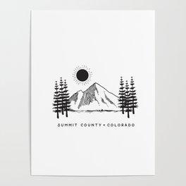 Summit County, Colorado Poster
